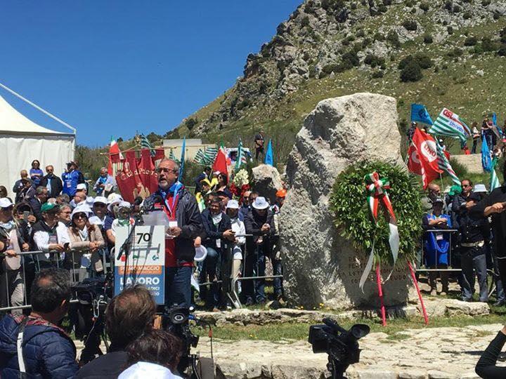 1° Maggio 2017, Manifestazione Nazionale (Portella della Ginestra)
