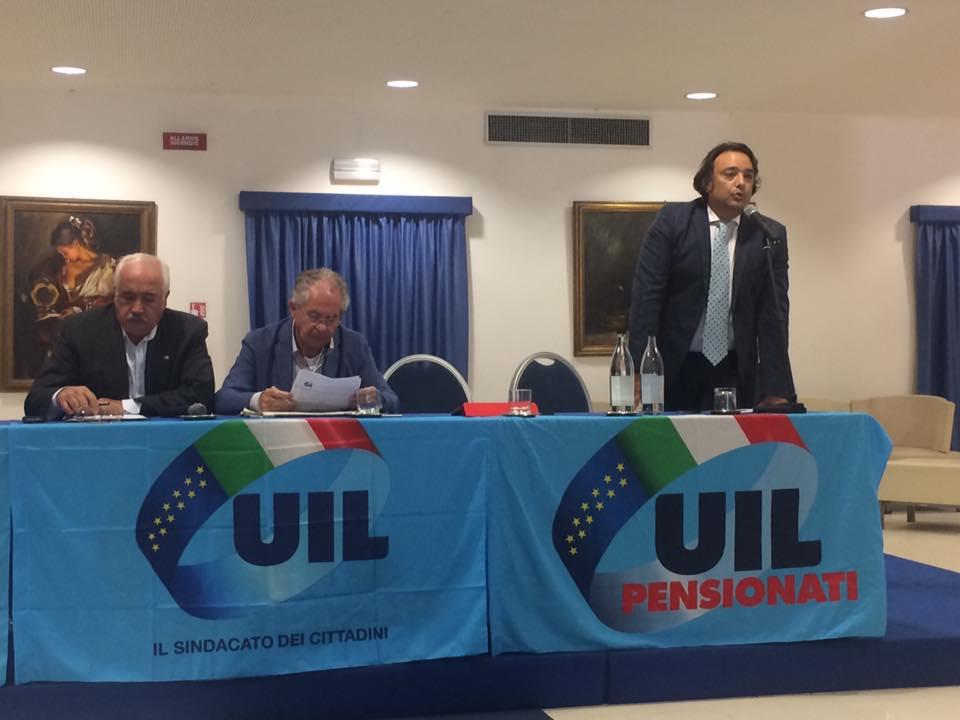 Consiglio Territoriale UIL Pensionati Area Messina (Messina, 3 ottobre 2017)