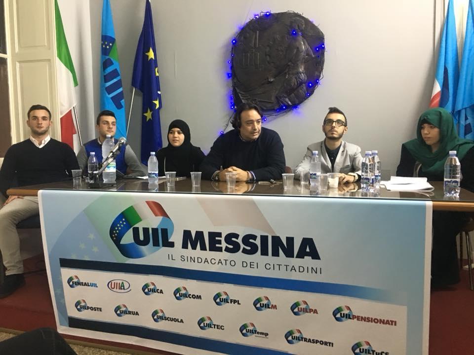 Costituzione UIL Giovani Messina (Messina, 30 novembre 2017)