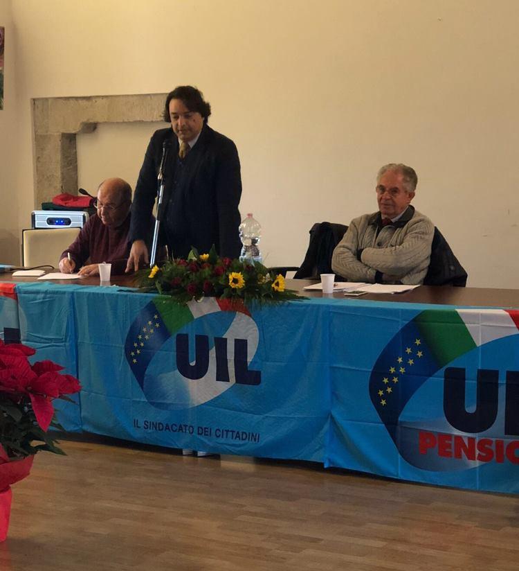 Consiglio Territoriale UIL Pensionati Area Nebrodi (S. Agata Militello, 18 dicembre 2017)